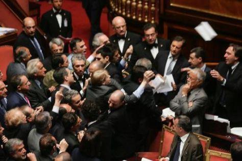 Ressa in Parlamento